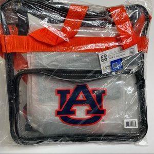 Auburn Tigers Clear See Through Messenger Bag